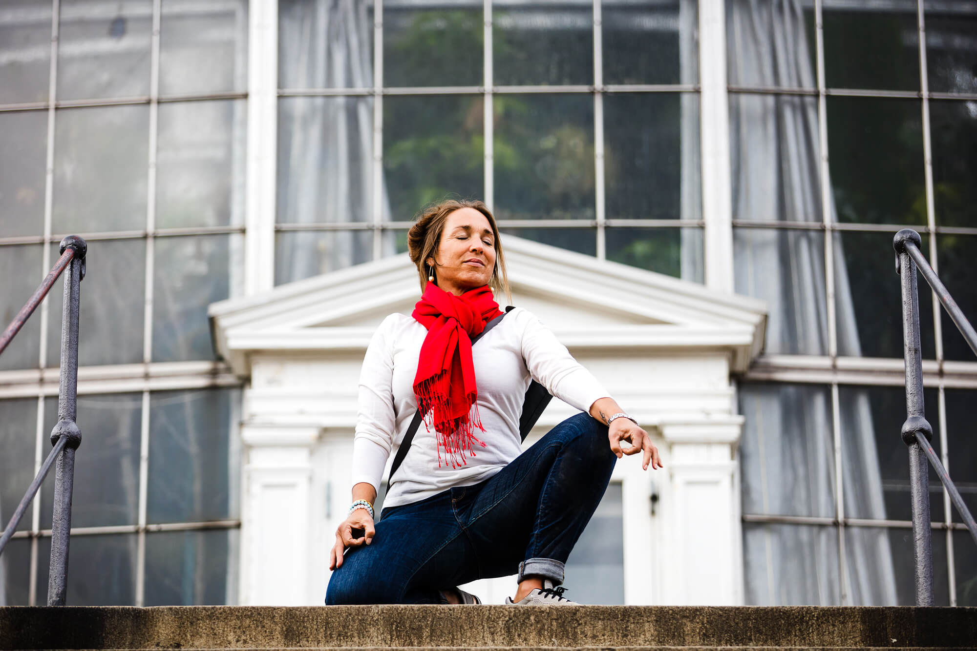 Deltag i Kristine Roths yogaundervisning